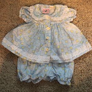 5 for $25, 10 for $40 duck dress w/ pantaloons